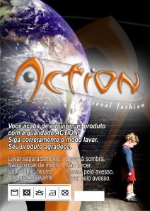 Action - Moda Malha - Tag para roupa