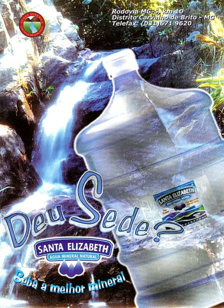 Cliente: Água Mineral Santa Elizabeth