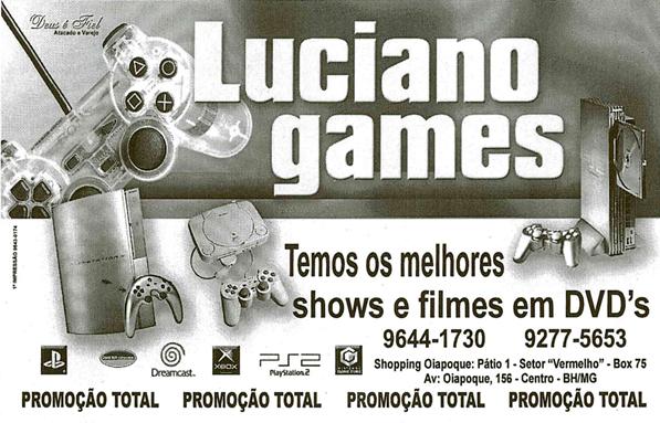 Cliente: Luciano Games