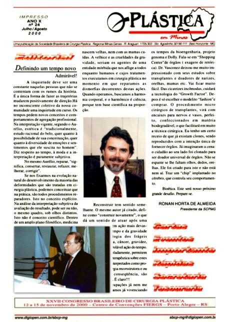 Cliente: Sociedade Brasileira de Cirurgia Plástica