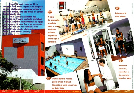 Cliente: Academia Sport Fitness